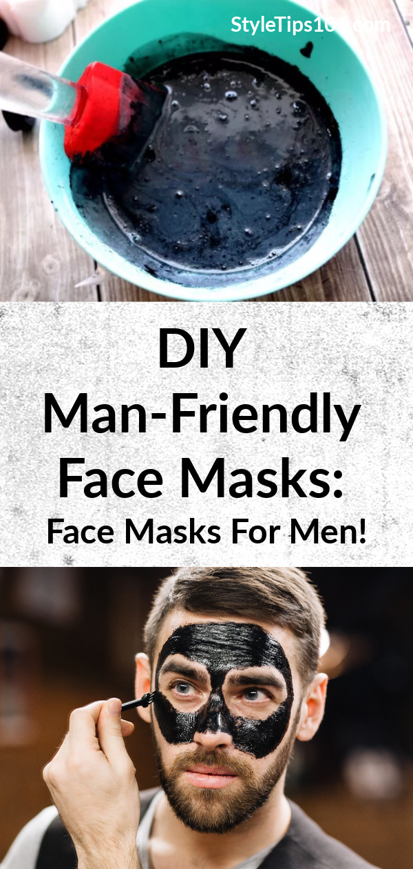 These DIY man-friendly face masks are just what the man in your life needs! These face masks for men are tailored to men's skin which is actually 25% thicker than women's! #facemasksformen #mensfacemasks #diybeauty