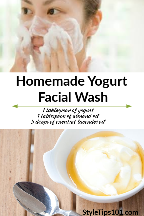 Homemade Facial Wash