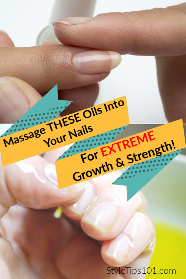 Oils for Healthy Strong Nails