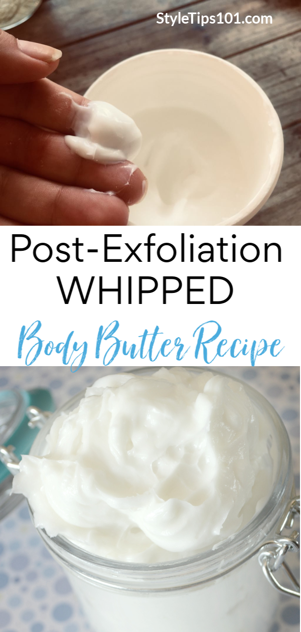 Let us introduce you to the best post-exfoliation hydrators and this awesome DIY body butter! Skin care just got a major upgrade! #diybodybutter #postexfoliation