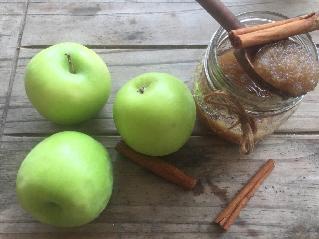 apple scrub
