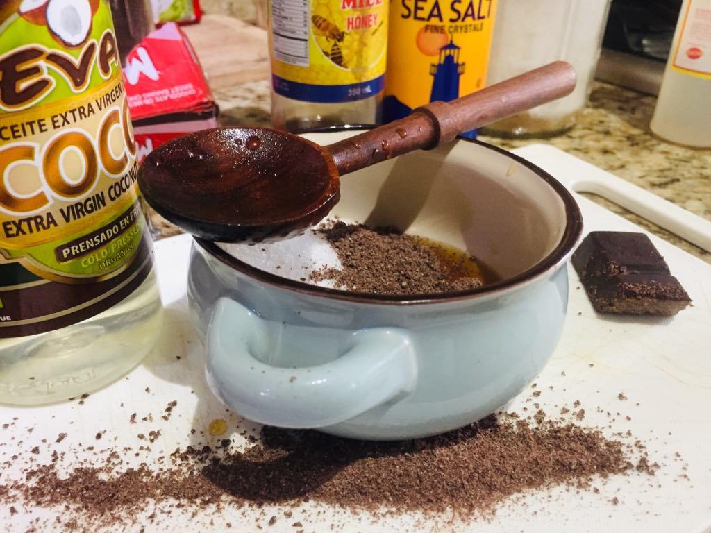 cookie dough scrub ingredients