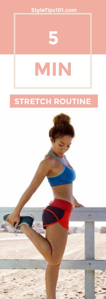 5 Minute Stretch Routine