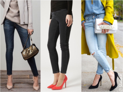 jeggings with heels