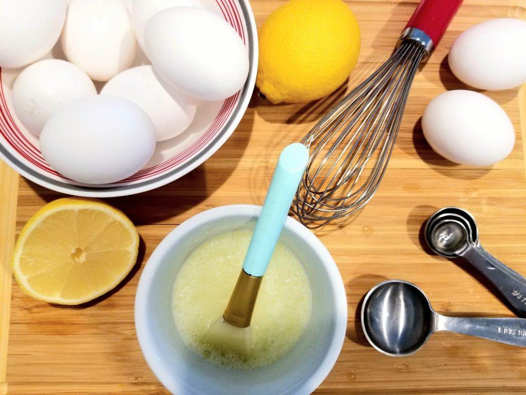 lemon juice and egg white peel off mask
