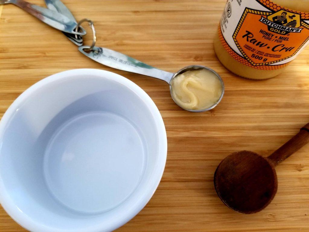 milk and honey mask ingredients