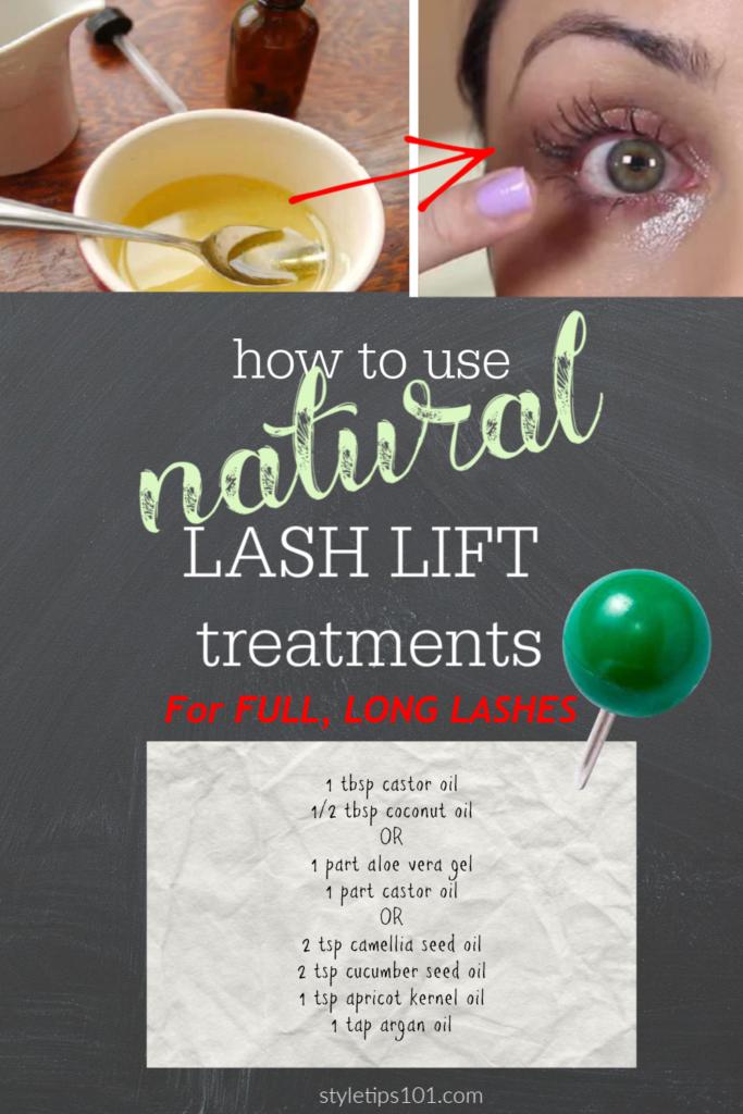 Natural Lash Lift Treatments